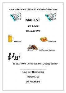 Plakat Maifest